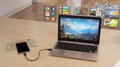 The Superbook: Turn your smartphone into a laptop by Andromium Inc