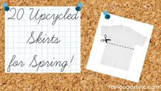 DIY Fashion: 20 Upcycled Skirts for Spring