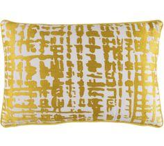 Wade Logan Mack Down Lumbar Pillow Color: Gold/Ivory Gold Accent Pillows, Yellow Throw Pillows, Linen Pillows, Couch Pillow Covers, Lumbar Pillow, Living Room Decor Pillows, Geometric Pillow, Pillow Sale, Decorative Pillow Covers