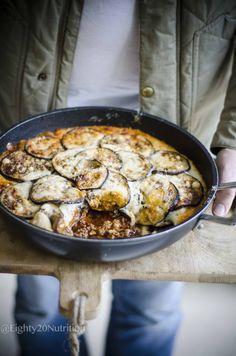 "Moussaka With Cauliflower ""Béchamel"" Sauce – Eighty 20 Nutrition Create A Recipe, Recipe Using, Veal Recipes, Paleo Recipes, Meal Calendar, Moussaka Recipe, Cauliflower Sauce, Organic Meat"