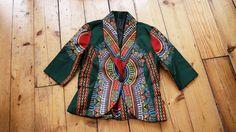 Dashiki blazer / african print blazer by TMFashionaccessories on Etsy