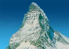 NATURAL: Matterhorn is the most distinctive peak in the world, it is shared by Italy and Switzerland, the summit towers 4478 meters high.
