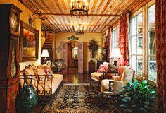 Leslie Elliott Interior Design -  autumn colors