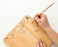 Wood Burned Cutting Boards make the Perfect Gift! Get your Walnut Hollow wood burning tool here: www.walnuthollow.com