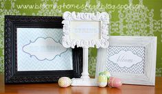 Blooming Homestead: {Spring} Printables