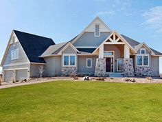 LDK Home Exterior featuring James Hardie Siding and Marvin Windows
