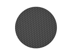 Round silicone placemat