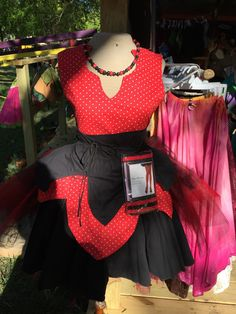 Gothic Lady Bug Fairy Outfit
