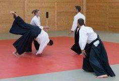 Fotos vom Aikido Verbandslehrgang im Budokan Wels am 13. und 14. Mai 2017. Im Rahmen dieses Lehrgangs legten 5 Vereinsmitglieder erfolgreich Ihre Danprüfungen ab: Saningake