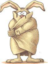 easter humor animated gif flashing bunny easter egg