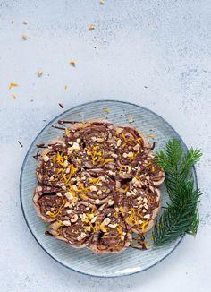 Julesnegle med marcipan og chokolade Vegan Baking, Eat Cake, Clean Eating, Beans, Gluten Free, Vegetables, Breakfast, Desserts, December
