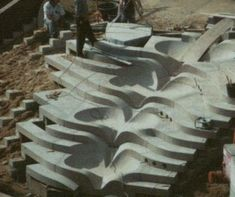 Stairs under construction