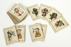 Happy Families card game, England 1860 Museum no. 47-1975