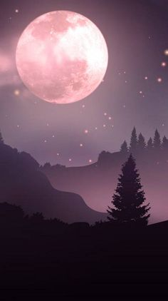 Search free moon Ringtones and Wallpapers on Zedge and personalize your phone to suit you. Pink Moon Wallpaper, Night Sky Wallpaper, Planets Wallpaper, Watercolor Wallpaper, Wallpaper Space, Cute Wallpaper Backgrounds, Galaxy Wallpaper, Beautiful Flowers Wallpapers, Pretty Wallpapers
