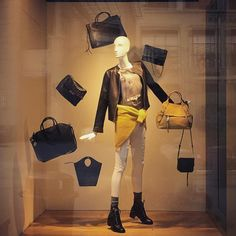 """NEIMAN MARCUS, Bellevue, Washington, """"It's all about the bag"""", photo by Darryl Thompson, pinned by Ton van der Veer"""