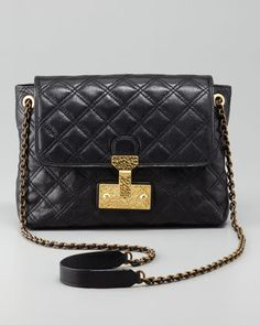 Marc Jacobs Single Baroque Large Quilted Bag - Neiman Marcus