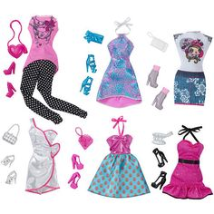 Let's put on a Fashion Show with Barbie! #BarbiesFavorites