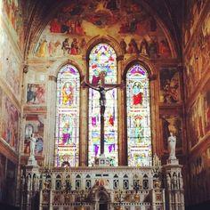 Vetrata a Santa Maria Novella, soo beautifull!