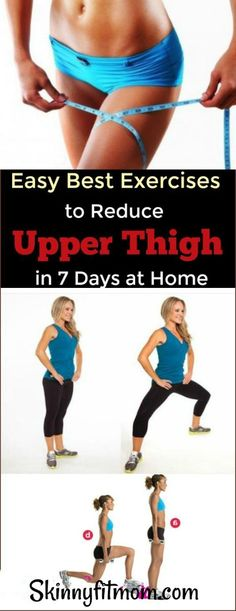 Cardio Workouts 10 Best Exercises to Lose Upper Thigh Fat Fast - Find out here easy exercises to lose thigh fat and tone legs fast at home Lose Thigh Fat Fast, Lose Belly Fat, Lose Fat, Weight Loss Secrets, Weight Loss Blogs, Good News, Thin Thighs, Cardio, Fat Burning Yoga