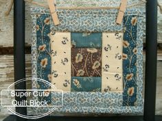 Small Quilts {52 Quilt Block Pick Up}