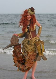 Steampunk Mermaid by weatherpixie on Flickr.