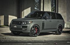 Doing Donuts With Bernie: Platinum Motorsports Shows off a Matte Grey Carbon Fiber Range Rover