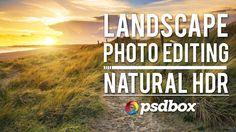 Landscape Editing - Natural HDR Effect