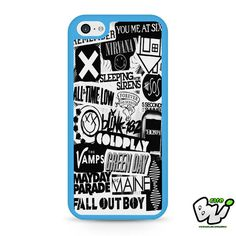 5sos Coldplay Fall Out Boy The Vamps 1975 iPhone 5C Case