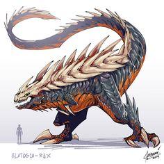 Dark Creatures, Mythical Creatures Art, Fantasy Creatures, Monster Hunter Art, Monster Art, Monster Concept Art, Fantasy Monster, Creature Concept Art, Creature Design