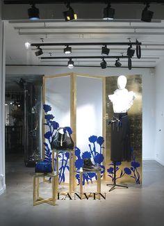 Lanvin window display. designed by Joséphine Pinton