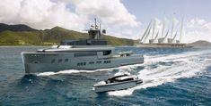 42m Explorer from Ken Freivokh Design and Bray Yacht Design