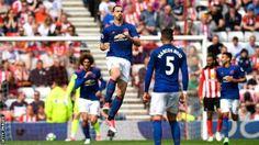 Sunderland 0-3 Manchester United - BBC Sport