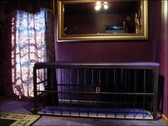 Los Angeles, CA, The Dominion: The Sanctum. Dungeon furniture includes a Sonny Black bondage table and cage, a one-of-a-kind Downtown Willy spanking chair, a beautiful throne and a whipping post. www.dominionsm.com