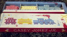 Vintage Casey Jones Jr. Avon Train Soaps in box by kookykitsch, $18.00