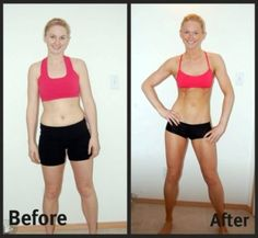I love that she transformed herself into a fit, beautifully-muscled girl
