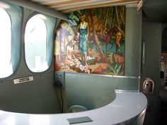 """photo - """"Cocktail Lounge"""" on a Flying Boat"""