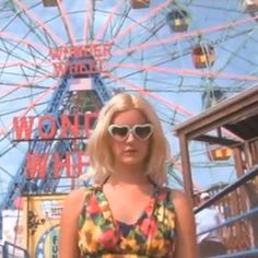 The Coney Island Queen of the past...I would definitely wear those glasses.