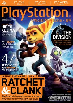 Official #PlayStation Magazine 120. 47 reasons to put #Hitman on your hitlist. Inside the #game & #movie: #Ratchet&Clank...