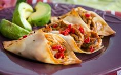 Baked Wonton Tacos - these look delish and fun for a party!