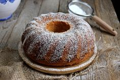 Levandulová bábovka s tvarohem :: Bundt cake de lavanda y quark