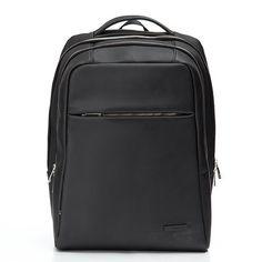 cb4e967c79 Business Retro Pu Backpack Multi Pocket Solid Laptop Bag For Men Women  Belts For Women