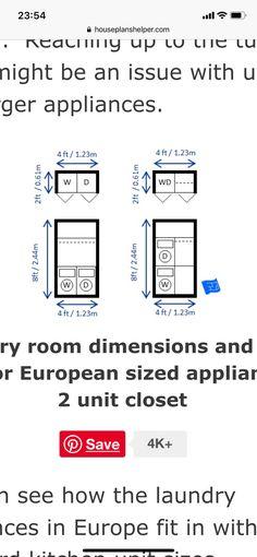 Room Dimensions, Floor Plans, The Unit