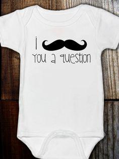 Cute Onesie - Mustache