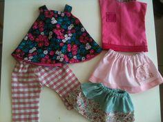 Couture pour débutante: Trousseau d'été pour poupée Corolle