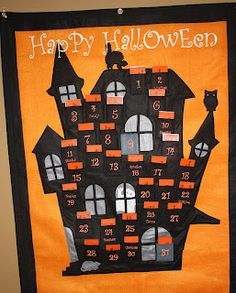 FREEBIE from Trendz and Traditionz: FREE Halloween Advent cards!  Does anyone else do a Halloween advent?