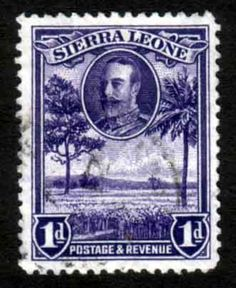Sierra Leone 1932 King George V Rice Field SG 156 Fine Used Scott 141 Other African Stamps HERE