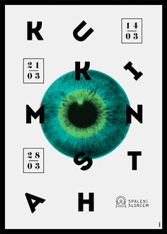 New Posters by Krzysztof Iwanski | Design Inspiration