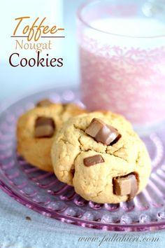 Pullahiiren leivontanurkka: Toffee-nougat Cookies