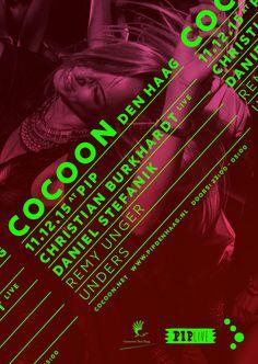 FRI DEC 11TH 2015 COCOON |  PIP Den Haag NL | www.pipdenhaag.nl