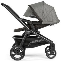 Team Stroller -- The Premium Single Stroller that turns into a Double! | Italian-made baby products and riding toys | Peg Perego
